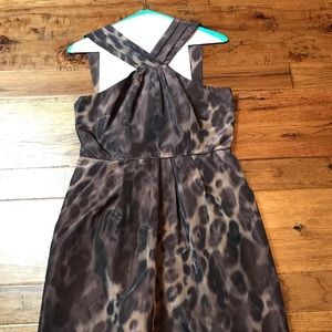 Banana Republic -- Animal Print Dress
